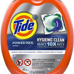 Tide Hygienic Clean Heavy 10x Duty Power PODS Laundry Detergent Pacs, Original, 48 count, For Vis...   Amazon (US)