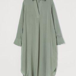 Lyocell-blend Shirt Dress | H&M (US)