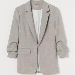 Gathered-sleeve Jacket | H&M (US)