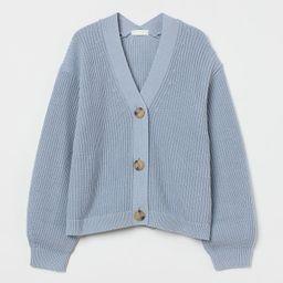 Rib-knit Cardigan | H&M (US)