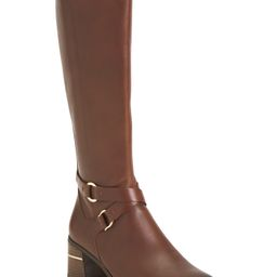 Leather Knee High Comfort Boots   TJ Maxx