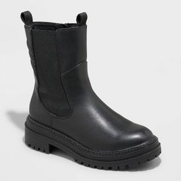 Women's Laura Gore Chelsea Boots - A New Day™ Black   Target