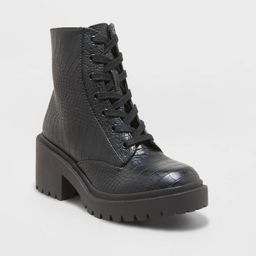 Women's Brie Combat Boots - A New Day™   Target