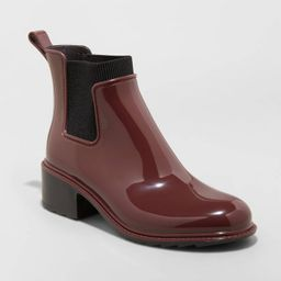 Women's Camille Heeled Boots - A New Day™   Target