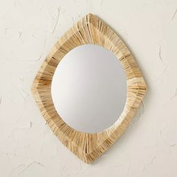 """18"""" x 24"""" Rattan Wrapped Wall Mirror - Opalhouse™ designed with Jungalow™ 