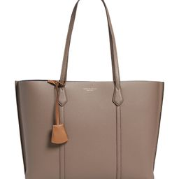 Perry Triple Compartment Leather Tote | Nordstrom