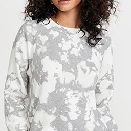Heather Bleach Out Pocket Raglan | Shopbop