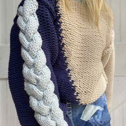 Isaiah Pullover Sweater | LOVESHACKFANCY