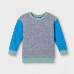 Toddler Boys' Fleece Crew Neck Pullover Sweatshirt - Cat & Jack™ | Target