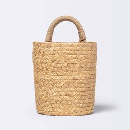 Small Hanging Woven Basket with One Handle - Cloud Island™   Target