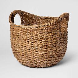 """16""""x18"""" Aseana Large Round Market Basket Natural - Threshold™   Target"""