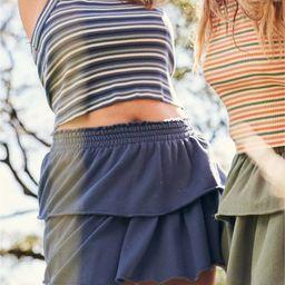 Aerie Weekend Ruffle Mini Skirt   American Eagle Outfitters (US & CA)