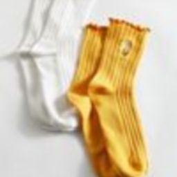 Lettuce Edge Icon Crew Sock 2-Pack   Urban Outfitters (US and RoW)