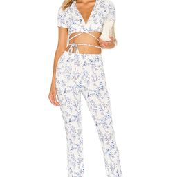 Lovers + Friends Paulie Wrap Top in Benet Floral from Revolve.com | Revolve Clothing (Global)