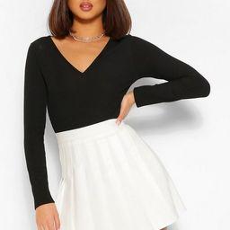 Woven Pleated Super Mini Tennis Skirt   Boohoo.com (US & CA)