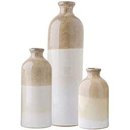 Sullivans Ceramic Vase Set - 3 Small Vases, Rustic Home Decor, Modern Farmhouse; Ideal Shelf Déc...   Amazon (US)