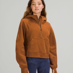 Scuba Oversized 1/2 Zip Hoodie   Women's Hoodies & Sweatshirts   lululemon   Lululemon (US)