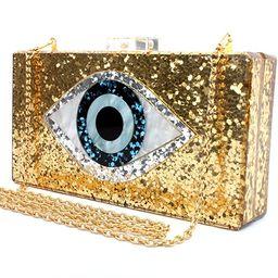 Silver Acrylic Clutch Bags Glitter Purse Perspex Bag Handbags for Women | Amazon (US)