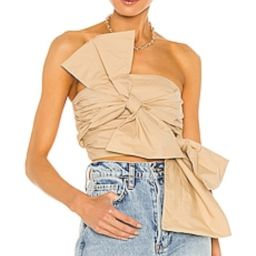 Song of Style Olsen Top in Sand Beige from Revolve.com | Revolve Clothing (Global)