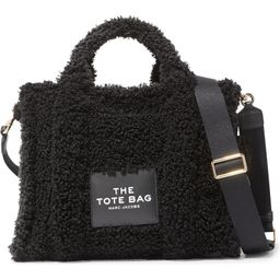 Small Faux Shearling Traveler Tote Bag   Nordstrom