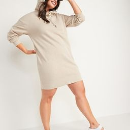 Hooded Sweatshirt Shift Dress for Women | Old Navy (US)