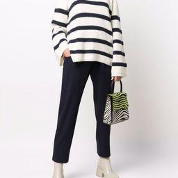 striped roll neck jumper | Farfetch (UK)