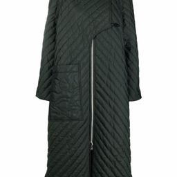 recycled ripstop quilted oversized coat | Farfetch (UK)