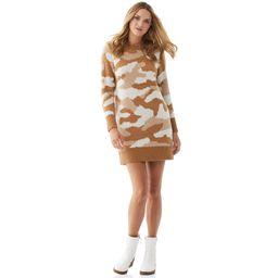 Scoop - Scoop Women's Camo Sweater Dress - Walmart.com   Walmart (US)