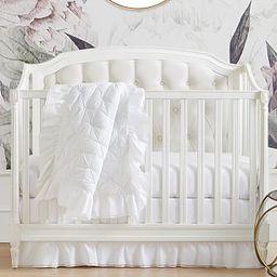 Sadie Ruffle Baby Bedding | Pottery Barn Kids
