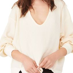 Women's We the Free Buttercup Oversize Thermal Top | Nordstrom | Nordstrom