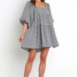 Capranica Dress - Black Gingham | Petal & Pup (US)