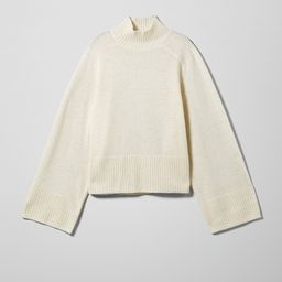 Saga Wool Sweater   Weekday