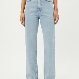Rowe Extra High Straight Jeans   Weekday