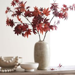 Faux Japanese Maple Branch - Red | Pottery Barn (US)