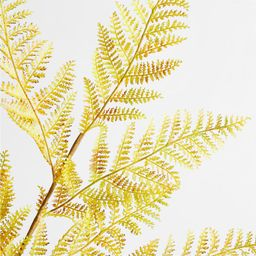 Faux Yellow Fern Stem + Reviews | Crate and Barrel | Crate & Barrel