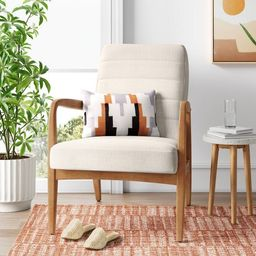 Northway Channel Tufted Wood Armchair - Project 62™ | Target