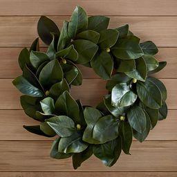 Faux Magnolia Wreath | Pottery Barn (US)