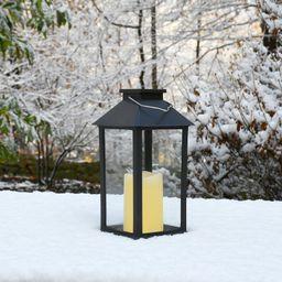 "11"" Solar Powered Outdoor Lantern | Wayfair North America"