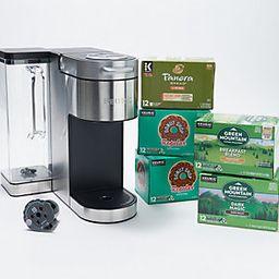 Keurig K-Supreme Plus Coffee Maker w/60 K-Cups,My K-Cup   QVC