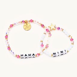Mama + Mini Pink Crystal- Mama & Me   Little Words Project