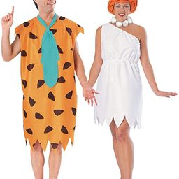 Fred and Wilma Flintstone Costume Set | Amazon (US)