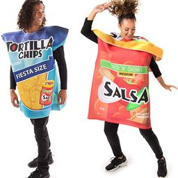 Tortilla Chips & Salsa Jar Couples Costume - Cute Funny Food Halloween Outfits | Amazon (US)