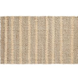 "Asha Vertical Striped Jute Doormat, 18 x 30"", Gray Multi | Pottery Barn (US)"
