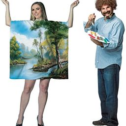 Bob Ross Artist Couples Costume Bundle Set | Amazon (US)