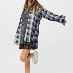 Urban Renewal Vintage Oversized Flannel Shirt | Urban Outfitters (US and RoW)