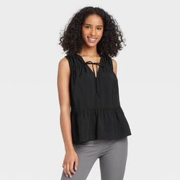 Women's Smocked Tank Top - A New Day™   Target
