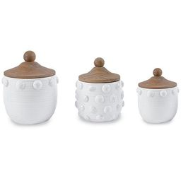 Raised Dotted Canister Set | Dillards