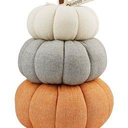 Festive Fall Collection Pumpkin Stack Decor | Dillards