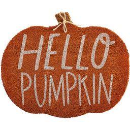 Festive Fall Collection Hello Pumpkin Door Mat | Dillards