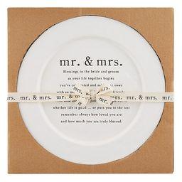 Wedding Blessing Round Platter   Dillards